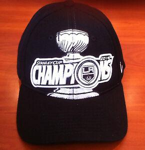 Los-Angeles-Kings-Zephyr-M-L-Flex-Fit-Hat-Cap-NHL-2014-Stanley-Cup-Champions