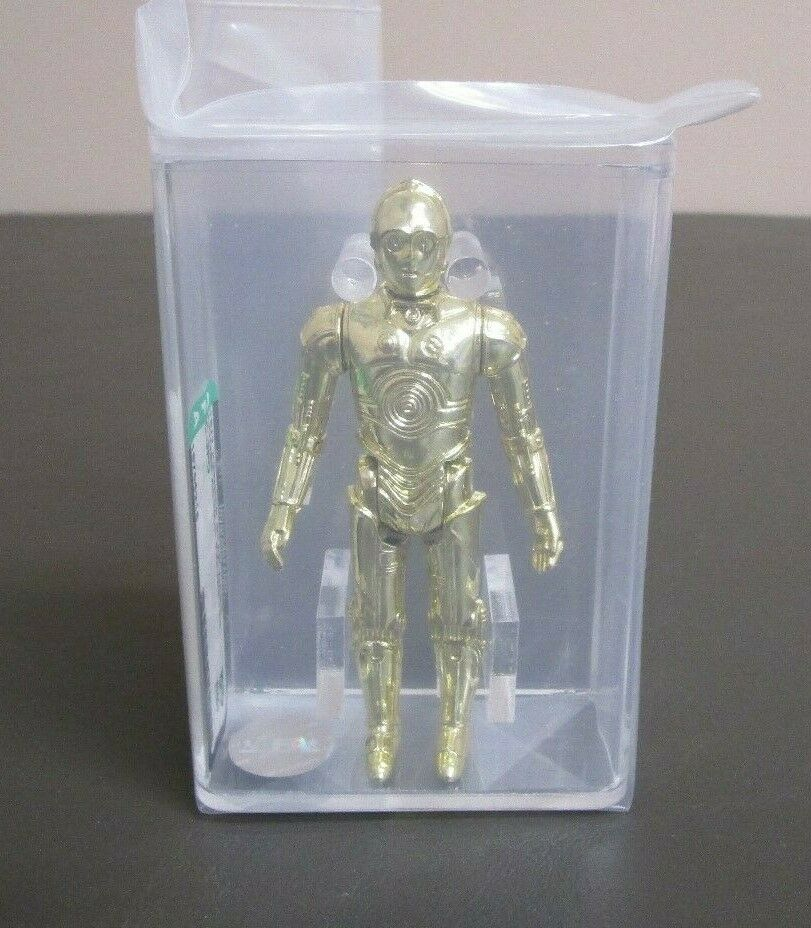 C-3PO 1977 STAR WARS Graded AFA 85 NM+ HK JJ New Case