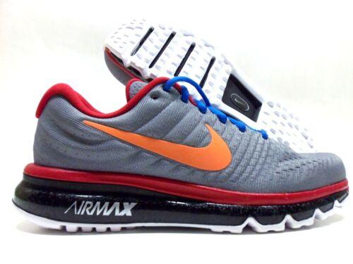 azul Nike Tama o 918091 Max 991 team 2017 Air orange 5 Grey 7 Id Rojo Cool Hombres rzTSxr