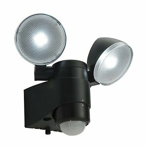 Battery Operated Led Spotlight With Pir Sensor Single