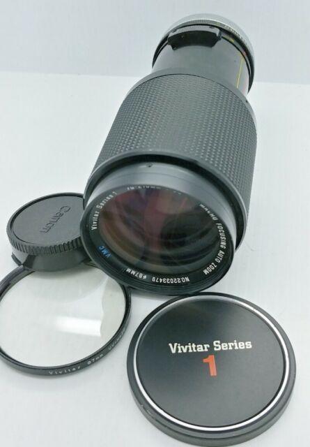CANON FD mount VIVITAR Series 1 70-210mm F/3.5 manual Lens
