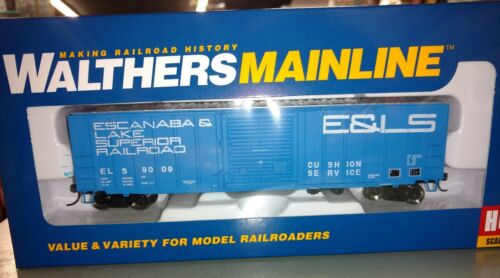 Walthers Mailnline 2169 - ELS - 50' ACF Exterior-Post Boxcar - RTR