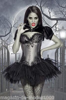 Umorismo Costume Streghe Corsetto Costume Gothic Burlesque-costume Halloween Carnevale Carnevale-üm Halloween Fasching Karneval It-it Mostra Il Titolo Originale