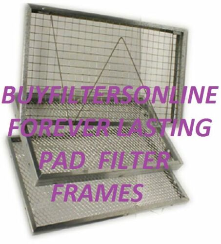 AIR FILTER HOME FURNACE A//C BEST VALUE PERMANENT WASHABLE ELECTROSTATIC SAVE!