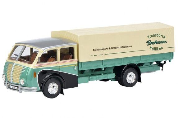 450900700 SAURER 3c-h Camión 1:43 LIMITADO 500 , SCHUCO