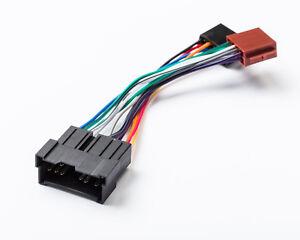 ISO-DIN-Kabel-Stecker-AutoRadio-Kabelbaum-fuer-KOREANISCHE-KfZ-Radio-Adapter
