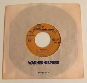 Fleetwood-Mac-Rhiannon-amp-Over-My-Head-45-w-Reprise-Sleeve-NM-Unplayed