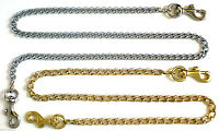 2 Mm Gold/nickel Clip-on Replacement Shoulder Bag Purse Pouch Clutch Chain Strap