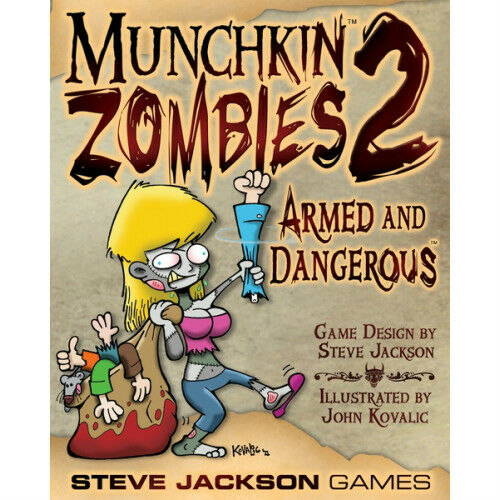 MUNCHKIN ZOMBIES 1 2 3 4 EXPANSION CARD GAME SET FACTORY NEW