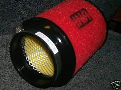 """TRUCK UNI UNIVERSAL CLAMP ON AIR FILTER 4/"""" OPENING CAR 6/"""" LONG ATV UP-6400S"""