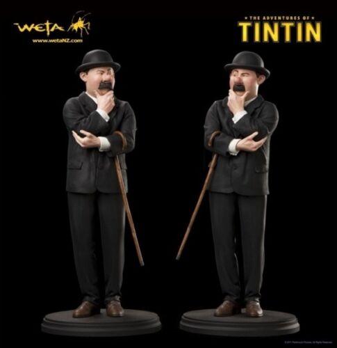 Weta - The Adventures of Tintin: Thomson & Thompson ~ Pair of Statues