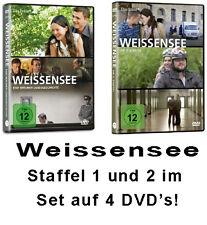4 DVDs * WEISSENSEE - STAFFEL 1+2 Set  Katrin Sass ,Hannah Herzsprung # NEU OVP