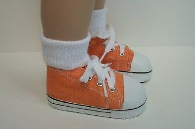 Debs LT PINK Canvas Tennis Doll Shoes Fits My Twinn Poseable