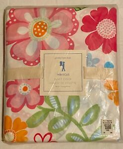 Pottery Barn Kids Multi Color Floral Hibiscus Flower