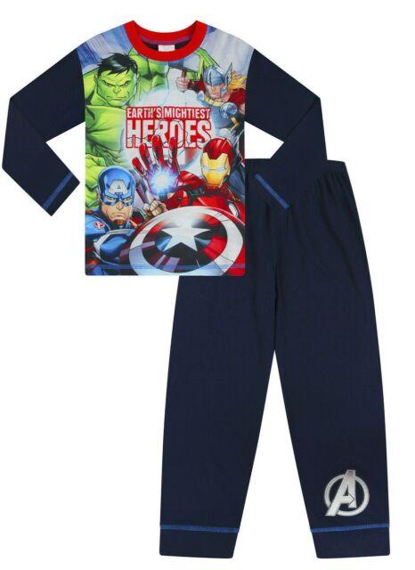 Captain America Fleece Bathrobe Boys Hulk Iron Man