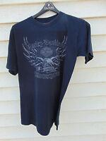 2008 Harley Davidson Smoky Mountain Pigeon Forge TN T-Shirt Large black fishing