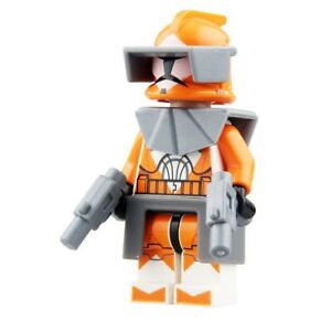 Image is loading Star-Wars-Clone-Bomber-Trooper-Fit-Lego-SW330-
