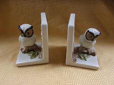 Vintage O M C Japan Owl Bookends