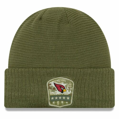 New Era Salute to Service Wintermütze Arizona Cardinals