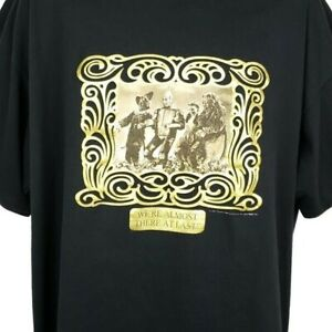 Wizard-Of-Oz-T-Shirt-Vintage-90s-Poppy-Fields-MGM-Grand-Made-In-USA-Size-2XL