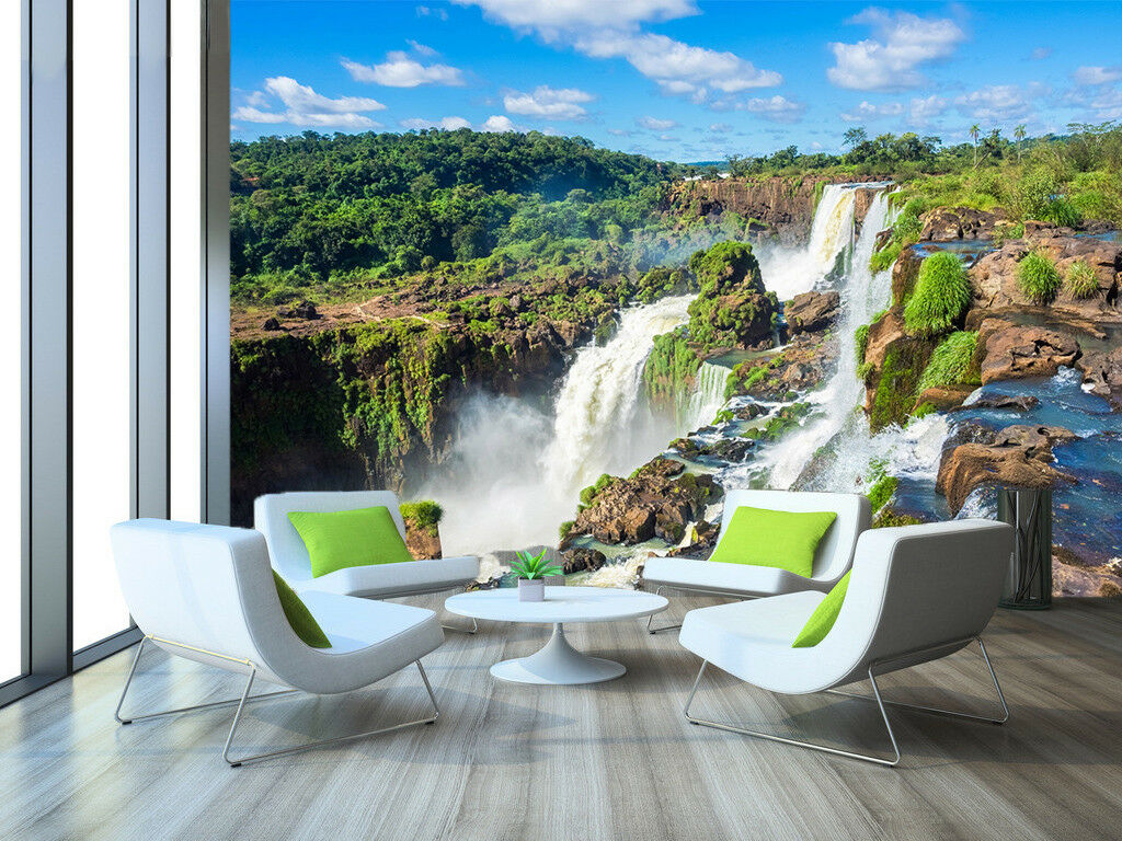 3D Wasserfall Natur 829 Tapete Wandgemälde Tapeten Bild Bild Bild Familie DE Lemon | Mode-Muster  | Starke Hitze- und Hitzebeständigkeit  |  5aa79b