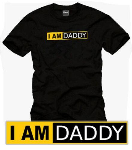 """T-Shirt /""""I AM DADDY/"""" S XXXL"""