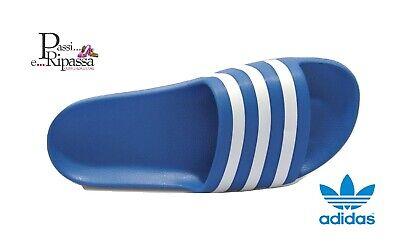 Pantofole ciabatte uomo ADIDAS ADILETTA AQUA estive per piscina mare sport blu   eBay
