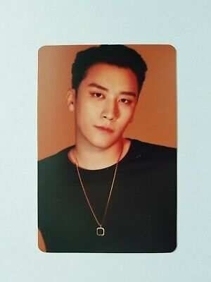 "Aspiring K-pop Bigbang Seungri Mini Album ""the Great"" Special Seungri Photocard Pleasant In After-Taste Other Entertainment Mem"