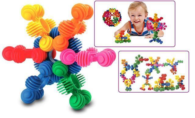 Interstar Rings 96 pcs - Brilliant 1st Construction Toy