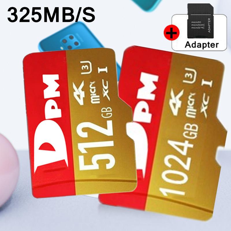 DPM Micro SD 128GB SDHC Memory Card Micro SD TF Mobile Phone Class 10 325MB/s