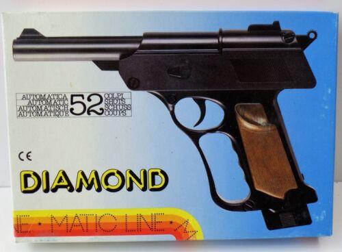 NEU NEW OVP Kostüm Fasching Diamond Automatic 52 Schuss Pistole Matic Line