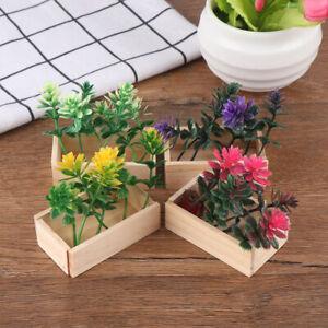 1-6-Dollhouse-miniature-potted-plant-flowers-pot-doll-house-dec-QR8Y