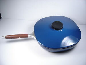 Catherineholm Holland Blue Enamel Skillet Fry Frying Pan