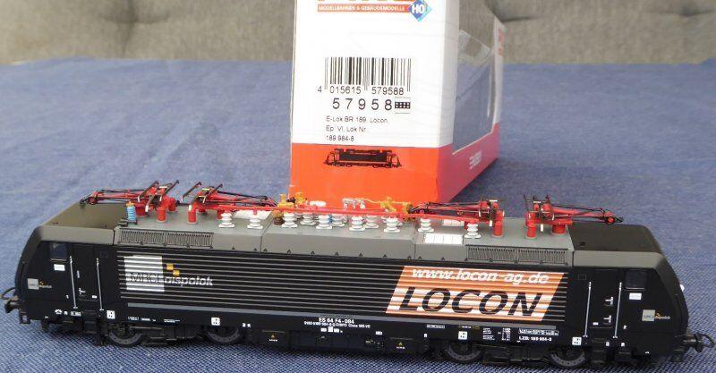 Piko 57958 e-Lok br 189 la Locon o de MRCE privado de ferrocarril Holland ep.5 6 con DSS nuevo