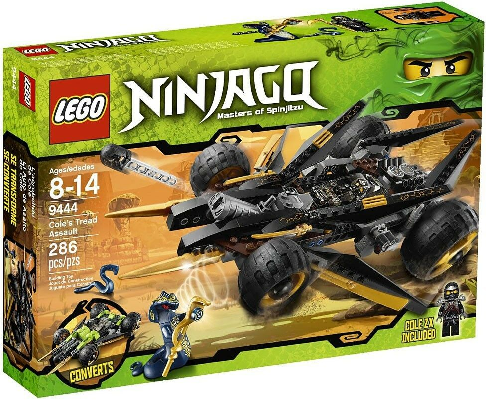 LEGO Ninjago Cole's Tread Assault Set