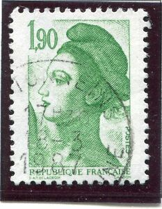 STAMP-TIMBRE-FRANCE-OBLITERE-N-2424-TYPE-LIBERTE