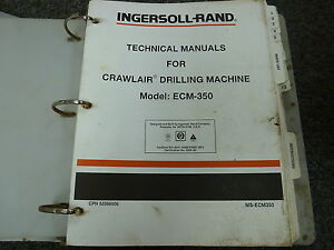 ingersoll rand ml500k parts manual