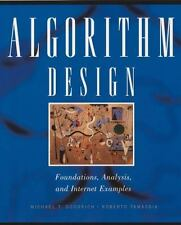 Algorithm Design : Foundations, Analysis, and Internet Examples by Roberto Tama…