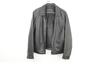 3 8 Real Black Leather Womens Jacket Size Skinz 34 09 w803 No Rq4qxP
