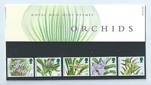 Stamp-Great-Britain-GB-1993-Royal-Mail-stamps-Orchids-presentation-pack-G-05