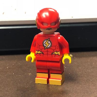 LEGO Custom PAD Printed CW Nora Allen XS Flash Speedster Minifigure Minifig Zoom