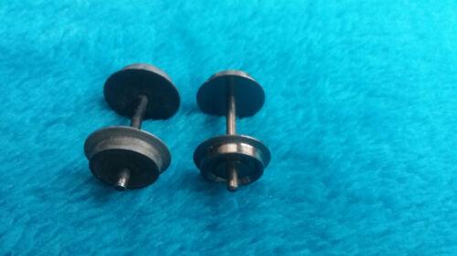 Zapfenachsen für alte Märklin-Wagen AC sowie DC zum Umrüsten auf Gleichstrom