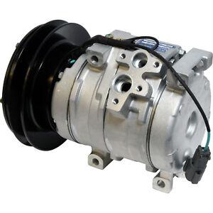 Details about For John Deere 450 600 800 CLC DLC Komatsu Chevy C50-75 NEW  A/C Compressor 24v