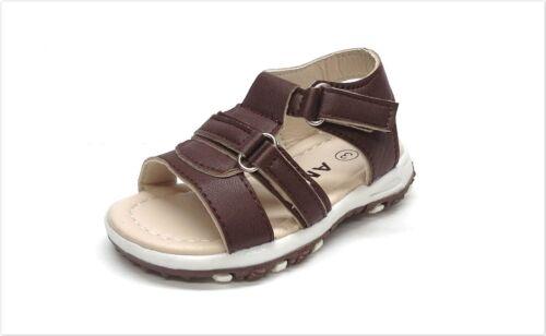 New Infant//Toddler Fisherman  Sandal Size 2 ~ 7 in Brown Open Toe