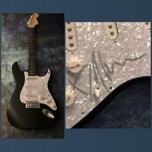 GFA Beetlejuice Composser DANNY ELFMAN Signed Electric Guitar PROOF COA