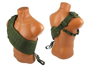 Vest-military-Modular-paintball-tactical-olive-airsoft-chest-rig-molle-bandolier