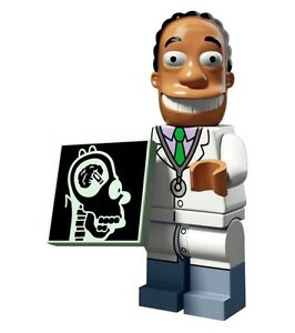 Lego-Dr-Julius-Hibbert-Simpsons-Series-2-Mini-figures-71009-RETIRED-LEGO