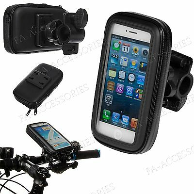 Rain Water Proof Bicycle Bike Handlebar Mount Holder Case For Different Phones
