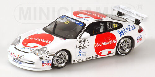 Porsche 911 GT3 Cup Carrera Cup 2004 400046227 1 43 Minichamps