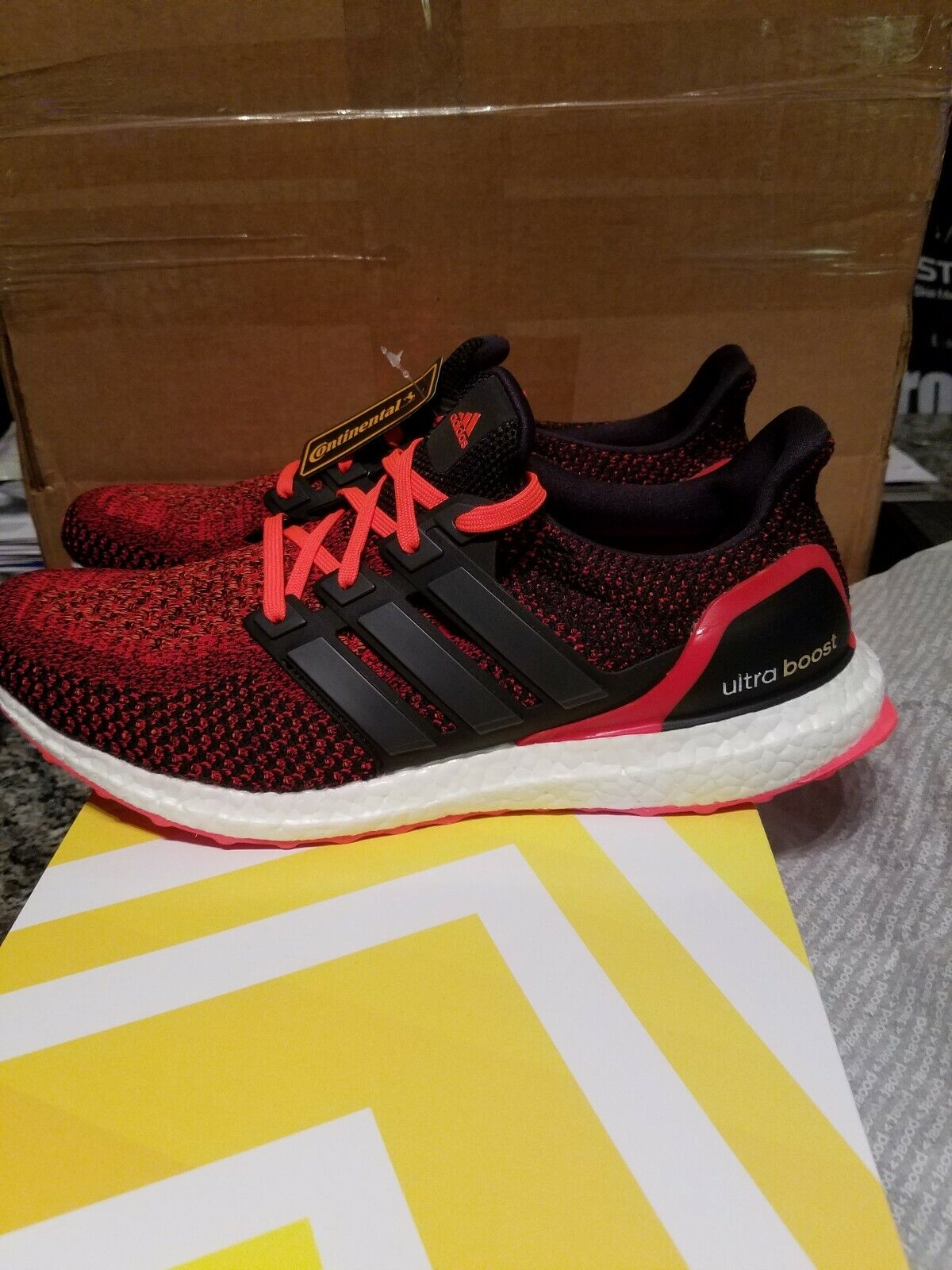 Adidas Ultra Boost 1.0 Solar Red Brand New Men's US Size 10.5